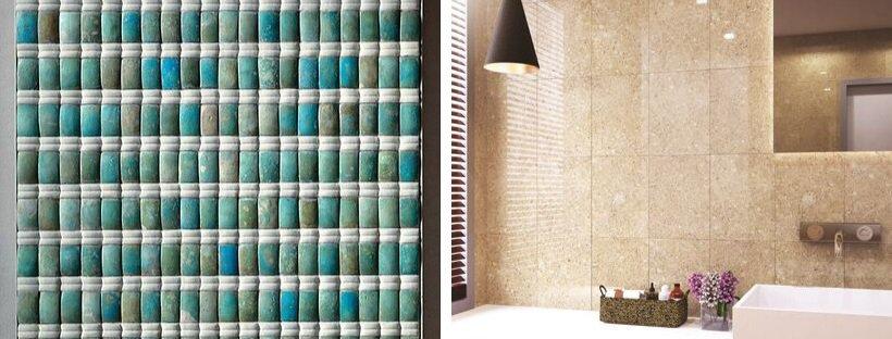 Tiles from Ancient Egypt (Left) vs Modern Day Tiles (Right)