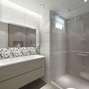 Chic Luxe (Contemporary & Minimalistic Style Bathroom)