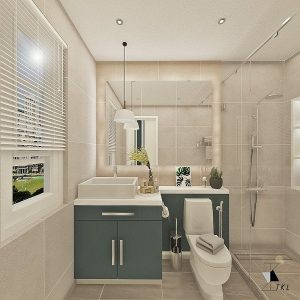 Back to Basics (Minimalistic Theme Bathroom)