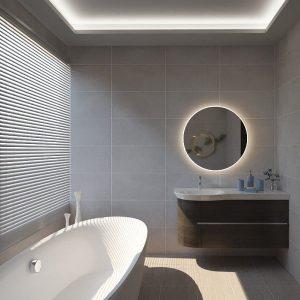 The Minimalist (Minimalistic Theme Bathroom)