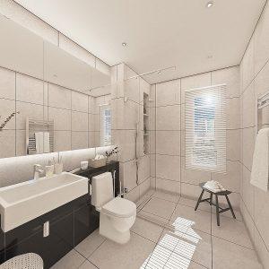 Classic Contemporary (Timeless Contemporary Bathroom Design)