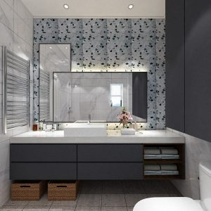 Classic Modern Speckle (Classic Style Bathroom)