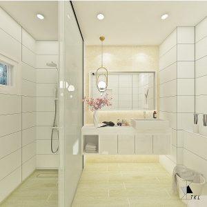 Serenity (Classic and Minimalistic Style Bathroom)