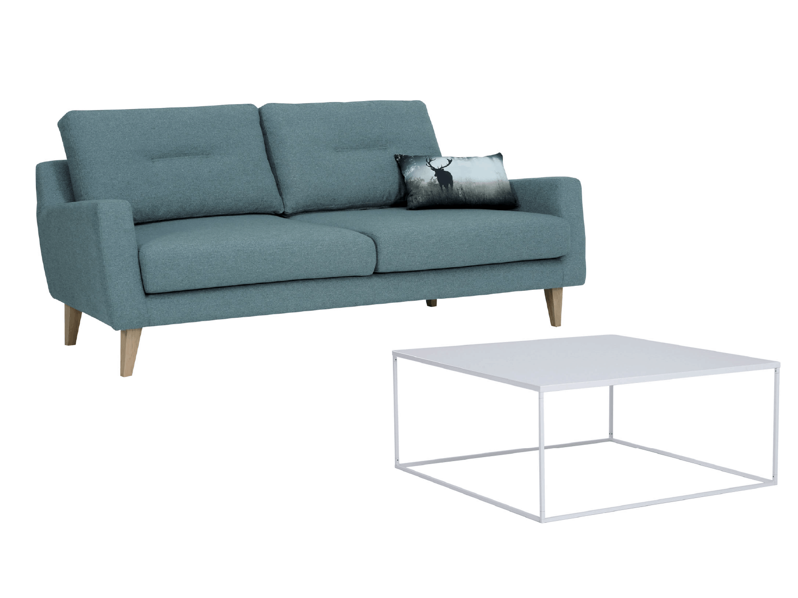 Malibu 3 Seater With Coffee Table Set (Marble Blue)@2x